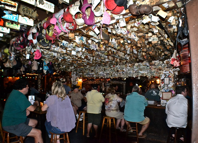 Key West, Florida- Captain Tony's bras everywhere