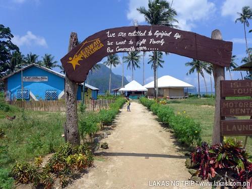 Gawad Kalinga Lodge and Restaurant at El Nido, Palawan, Philippines