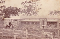 Courthouse and Police station, Willunga, 1880s.