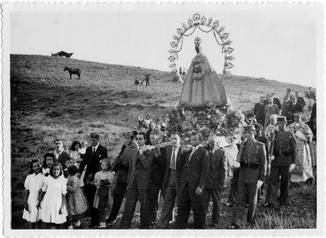Virgen de la Bastida (c) Fondo Rodríguez, JCCM Signatura CAJARCHP-023