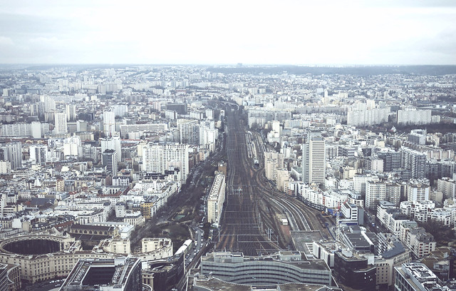 paris from above - la tour montparnasse