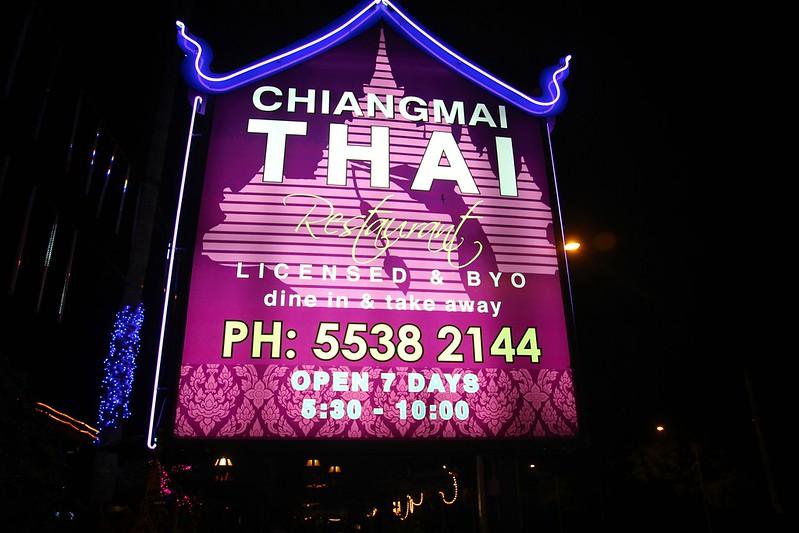 Chiangmai Thai sign