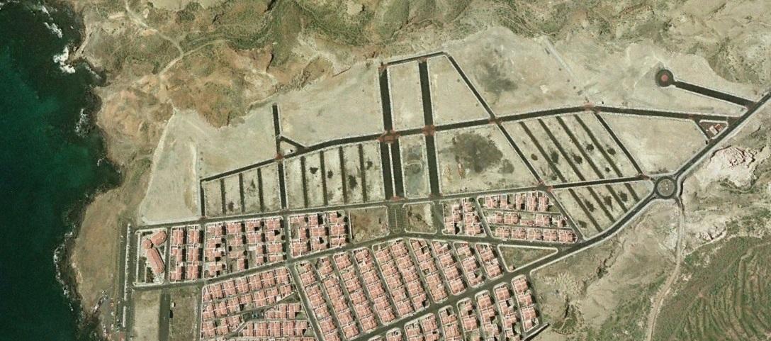 después, urbanismo, foto aérea,desastre, urbanístico, planeamiento, urbano, construcción, Abades, Tenerife