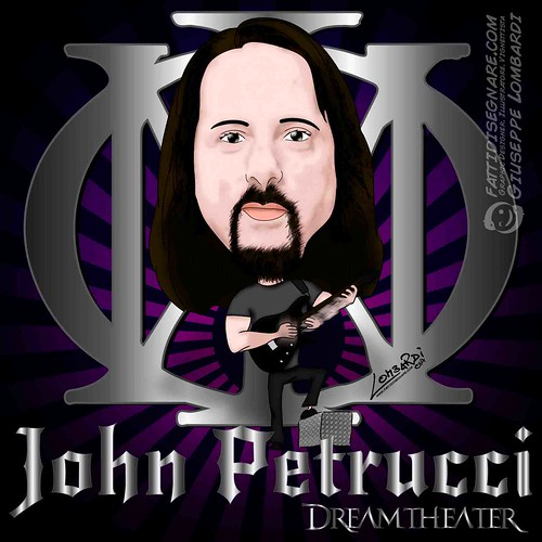John Petrucci by Giuseppe Lombardi
