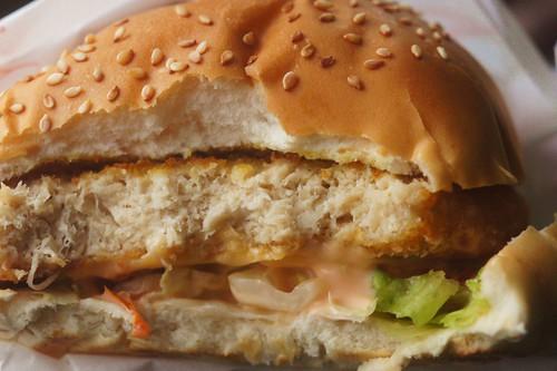 台中太平 給力漢堡