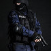 SWAT officer by getmilitaryphotos
