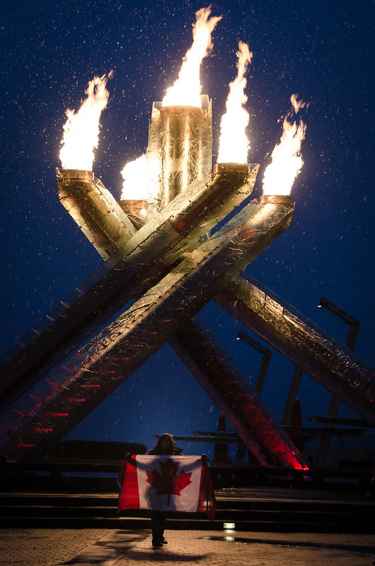 Vancouver Olympic Caldron