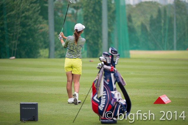 Some ladies golfers - Practice Round - Day 2 (some pics) 12765382275_ce97c8e053_z