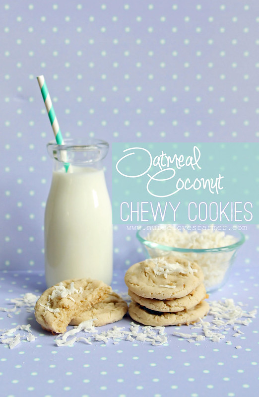 Oatmeal Coconut Chewy Cookies