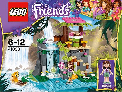 LEGO Friends Jungle Falls Rescue (41033)