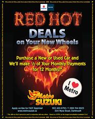 Metro Suzuki Red Hot