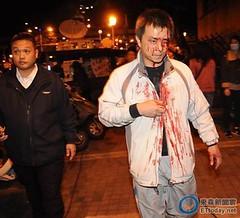 CNNが伝える台湾立法院での抗議行動