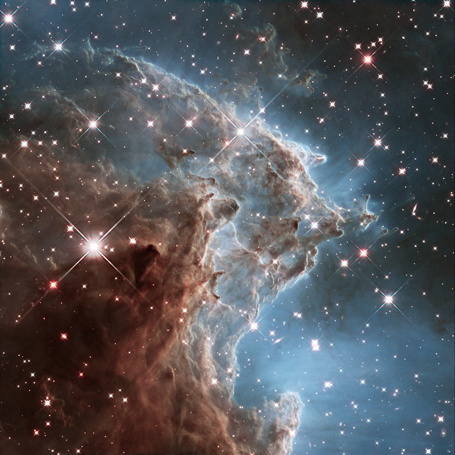 Photo:New Hubble image of NGC 2174 By:Hubble Space Telescope / ESA
