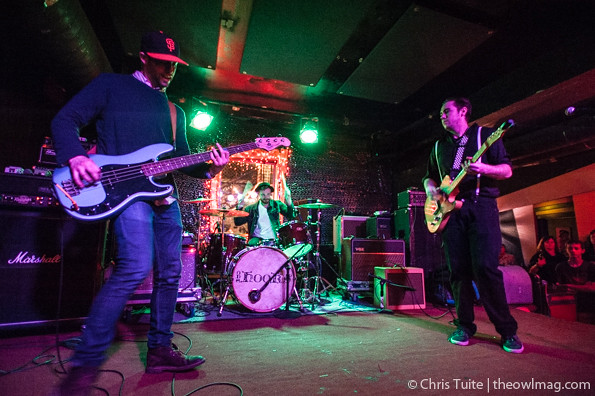 Fritz Montana @ Bottom of the Hill, SF 3/29/14