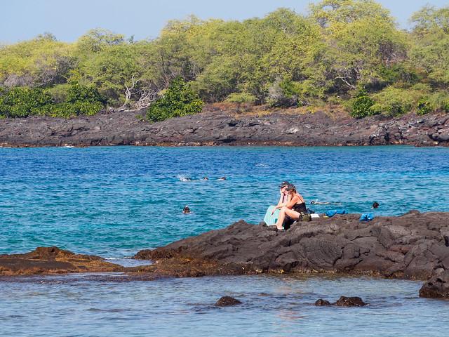snorkelers galore