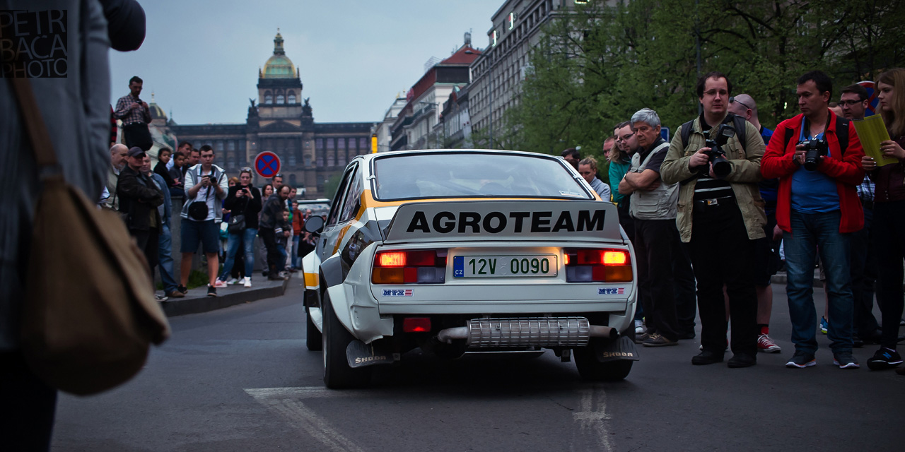 Rallye Praha Revival 2014, RPR, Eda Patera, Škoda 160 MTX, Metalex, Bastard,