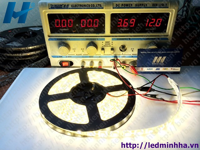 LED Dây Dán 5050 SMD ( 60Led/m ) Mầu Vàng