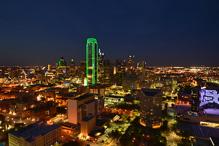 Dallas Skyline (Geo-Deck View) (2)