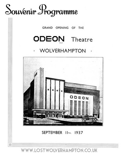 The Odeon Cinema in Skinner Street opened in September 1937