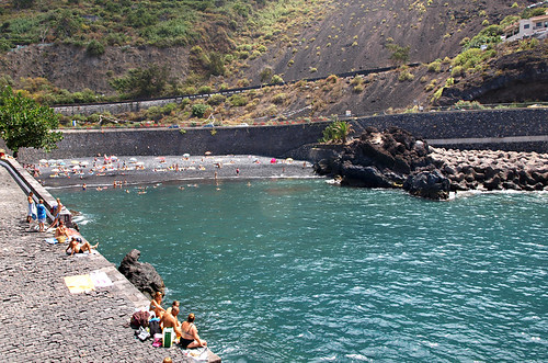 Garachico beach, Garachico, Tenerife