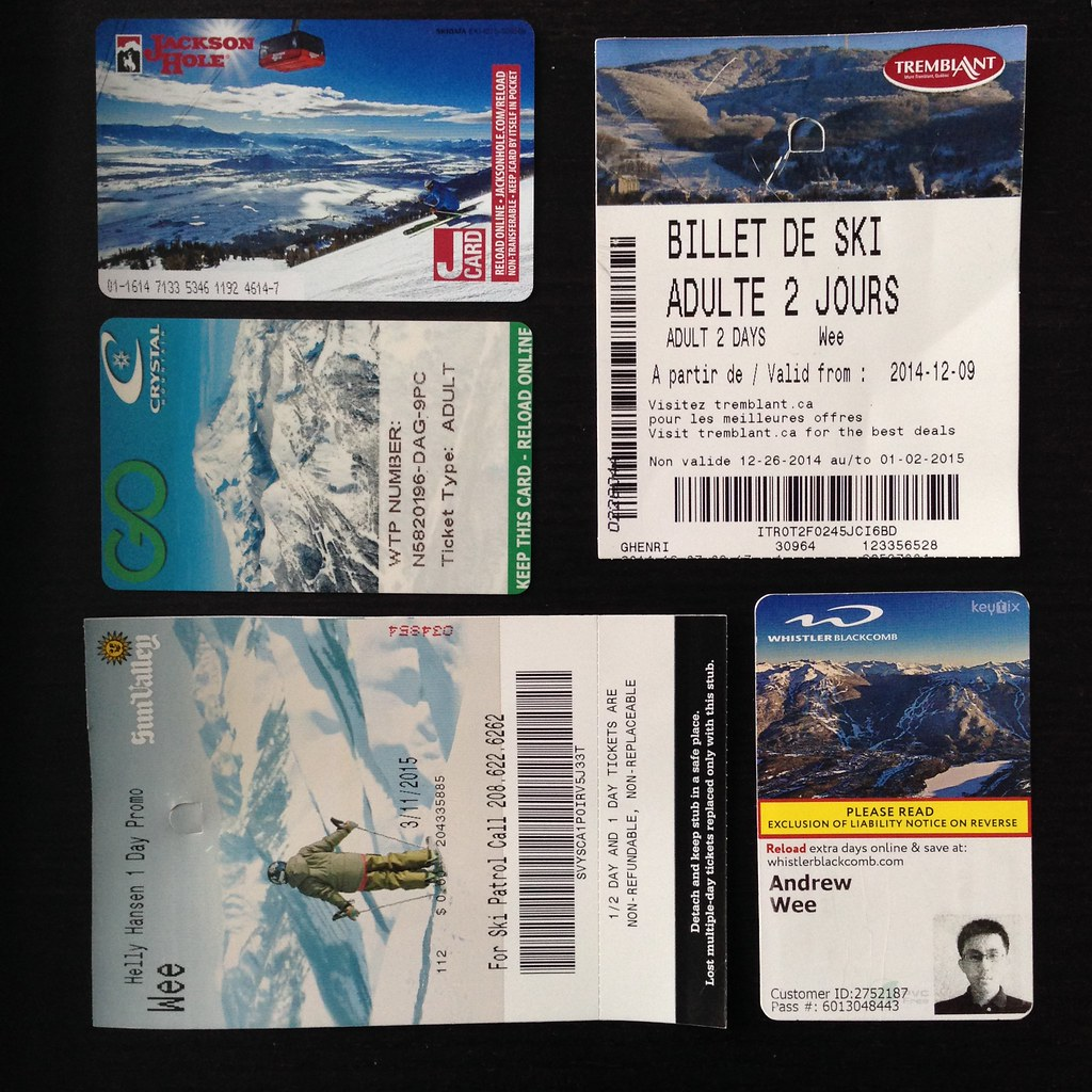 Ski Season Lift Tickets
