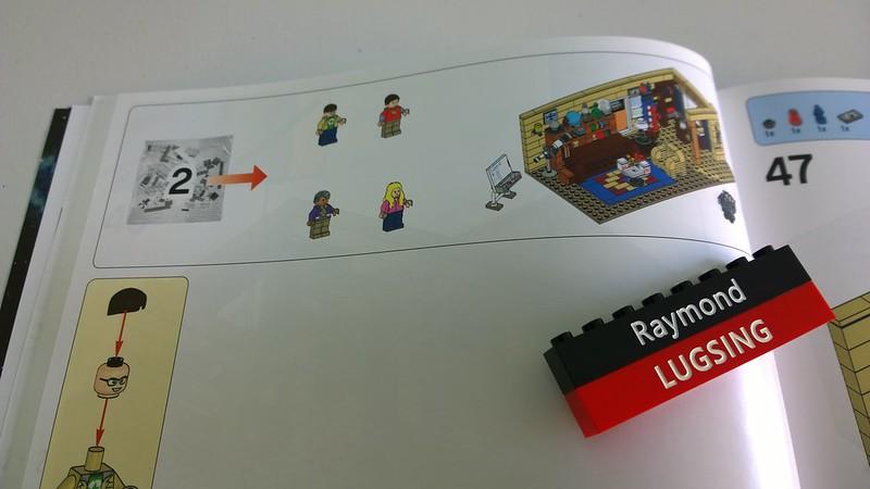 Review : #010 LEGO IDEAS - 21302 The Big Bang Theory 19445820308_a815a0787e_c