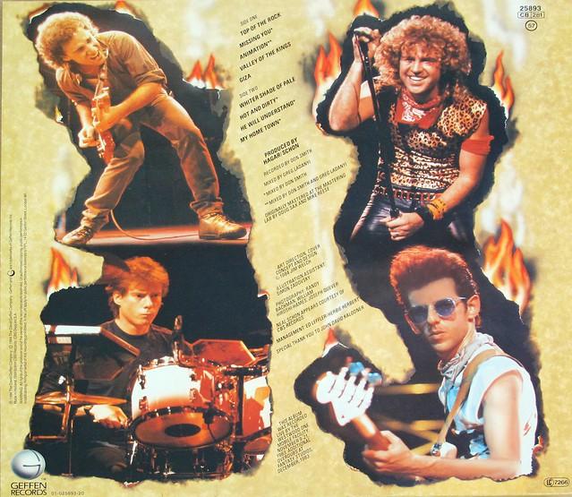 "HSAS Hagar Schon Aaronson Shrieve - Through the Fire 12"" LP VINYL"