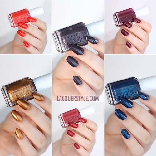 Essie Leggy Legend Fall 2015 Collection Swatches