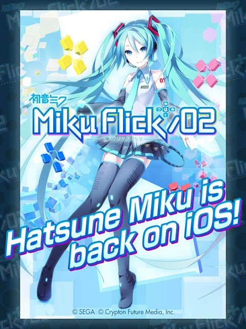Download Free Game Miku Flick Hack (All Versions) All Pack Unlocked 100% Working and Tested for IOS and Android