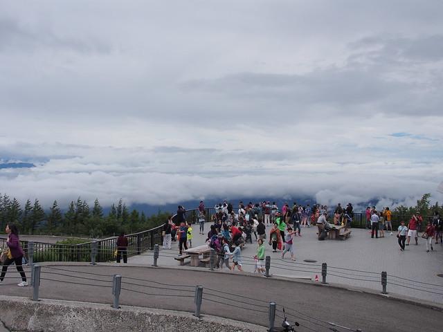 富士山五合目的觀景台
