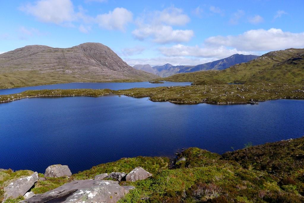Loch na Craoibhe-caoruinn and Loch an Eion