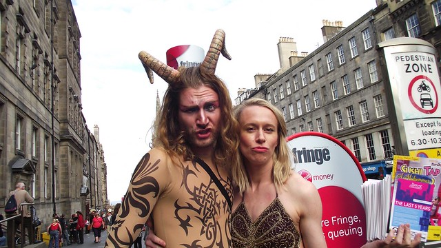 Edinburgh Fringe on the Mile 2015 018