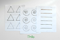 3doodler white sheets of tracing tests