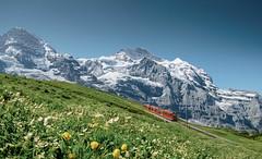 Jungraujoch– nejvýše položená železniční stanice vEvropě