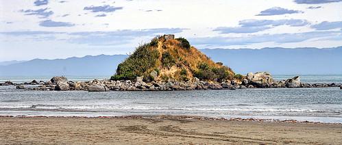 newzealand monkeyisland sea sky beach orepuki southland southisland