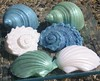 Blue, Green and White Seashell Soap