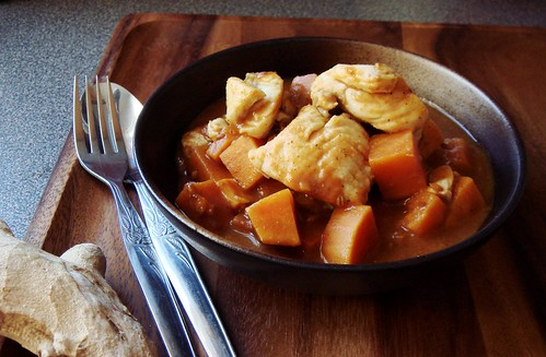 Sweet Potato Fish Curry