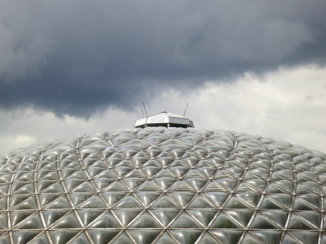 Conservatory and clouds
