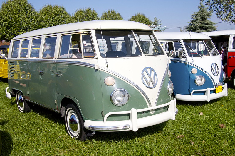 Volkswagen Microbus 2014 and Concepts of the Past