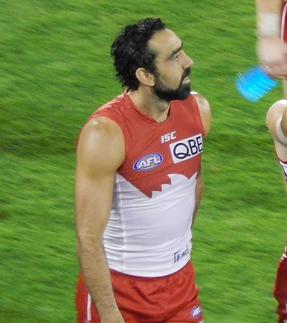 Header of Adam Goodes