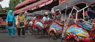 Jogjakarta - Tricycles