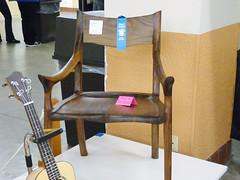 My Sam Maloof Chair Received Blue Ribbon