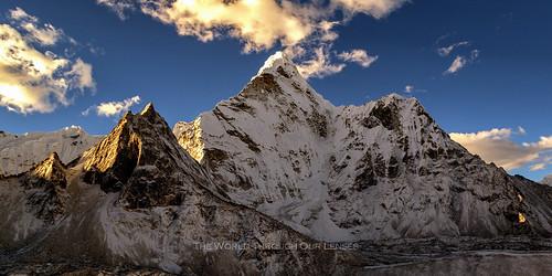 morning nepal asia himalayas amadablam theworldthroughourlenses