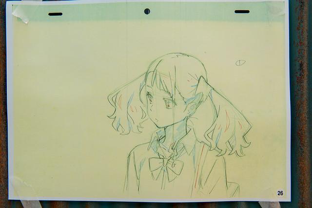 あの花夏祭2013 アニメ新OP原画