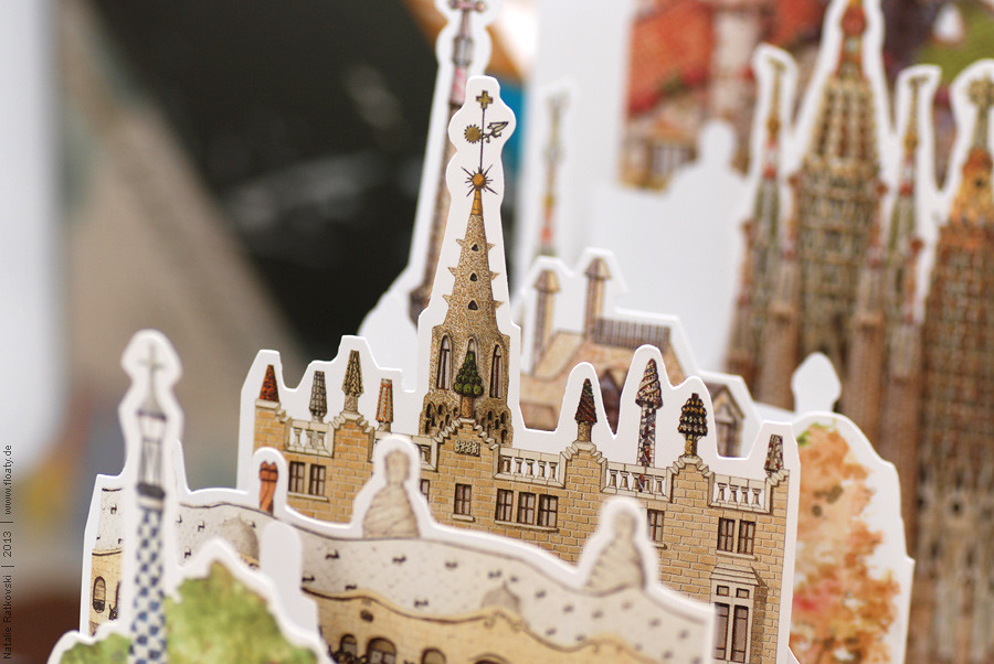 Papercutting from Barcelona