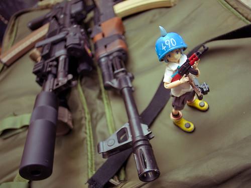 AK-102 MAGPUL Ver & Old AK47