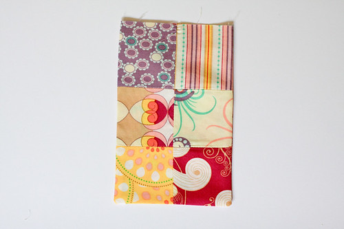 Patchwork Bunting Tutorial - In Color Order