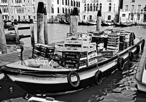 Venice Market Boat© by Haalo