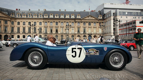 C-type Jaguar (replica) ~ la traversee de Paris estivale ~ 2013