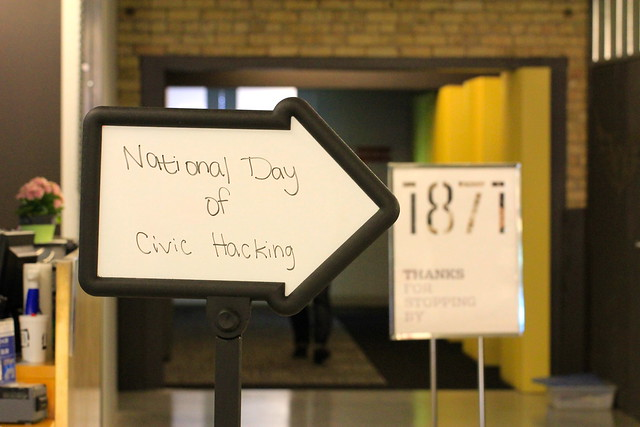 National Day of Civic Hacking at 1871